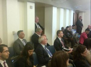 Toronto Mayor Ford in LA. Image credit: Mayors' own Twitter page.
