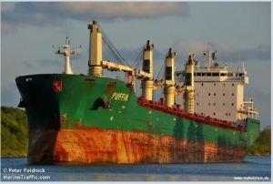 The Puffin. Photo credit: Peter Feldnick, marinetraffic.com