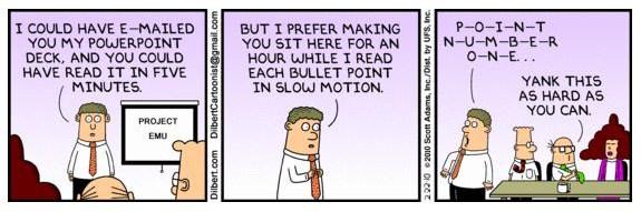 Dilbert: Property of Scott Adams